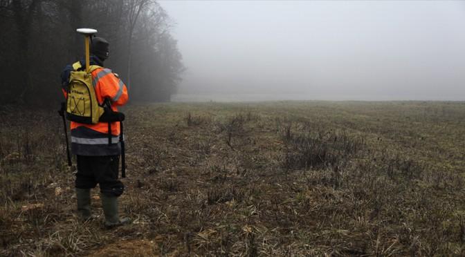 Prospections géologiques et archéologiques et formation aux relevés GNSS (16 au 20 février 2015)