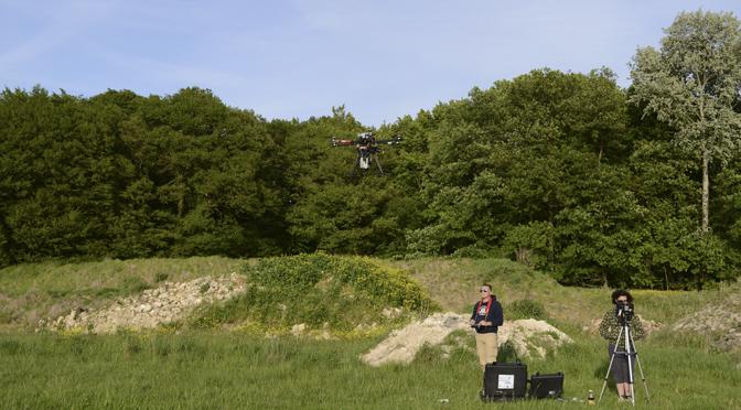 Détection des habitats néolithiques par drone