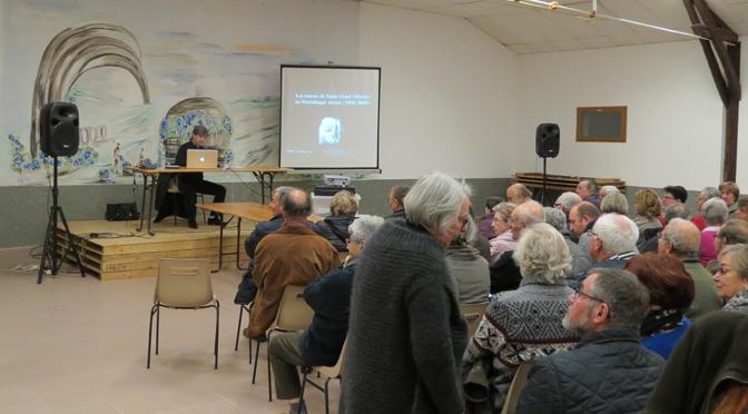 Conférence sur le Néolithique dans les marais de Saint-Gond